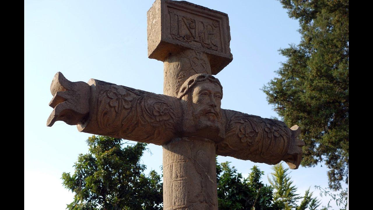 Atrial Cross, convento San Agustà n de Acolman, mid-16th