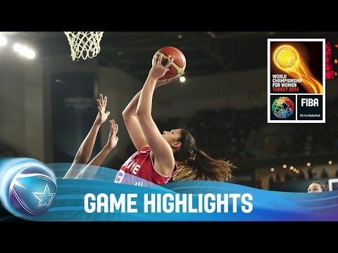 Mozambique v Turkey - Game Highlights - Group B - 2014 FIBA World Championship for Women