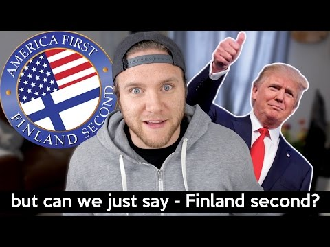 AMERICA FIRST FINLAND SECOND REACTION | Dave Cad