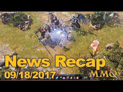 MMOs.com Weekly News Recap #113 September 18, 2017
