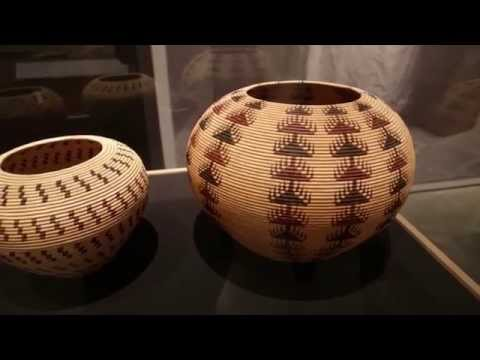 Washoe Native-American baskets at 'TAHOE: A Visual History' 1/3