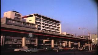 Akasaka section and Otani Hotel of Tokyo HD Stock Footage