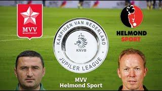 Previa y predicciones para MVV vs Helmond Sport 20/12/2019