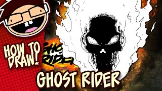 How to Draw GHOST RIDER (Comic Version) | Narrated Easy Step-by-Step Drawing Tutorial