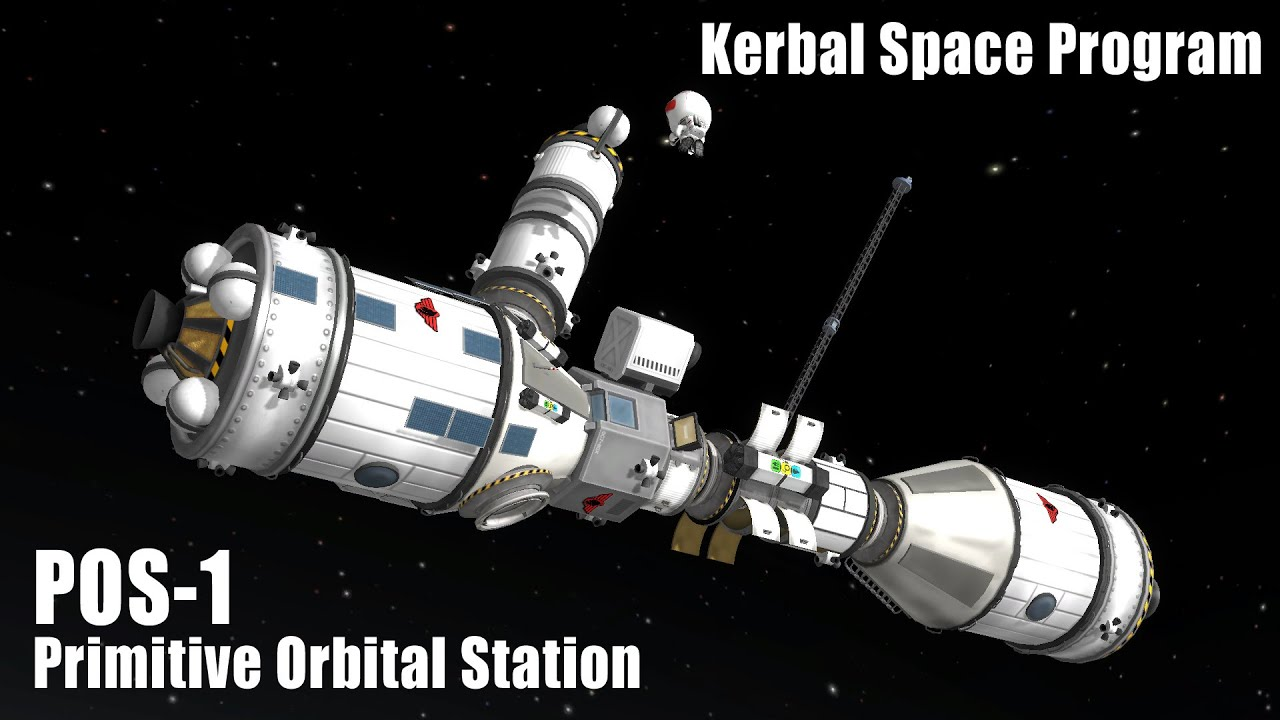 Primitive Orbital Station POS-1 (Launch & Assembly ...