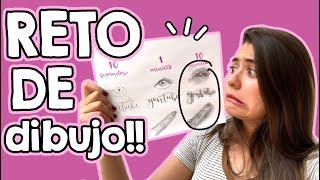 Reto de DIBUJO (10 seg, 1 min, 10 min!!) ☻ Martes con Barbs!