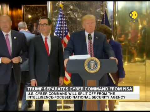 President Trump elevates Cyber Command's status to strengthen cyber security