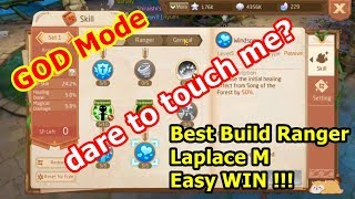 Best Build Skill Ranger Laplace M guide tutorial