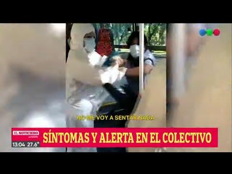 MUJER Con SÍNTOMAS De CORONAVIRUS Subió A Un COLECTIVO: Pasajeros Aislados - El Noti De La Gente