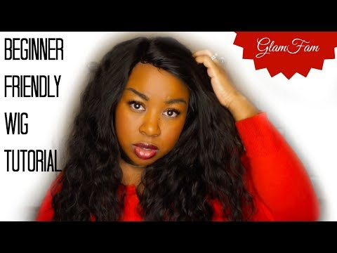 How to make a Lace Front wig for Beginners FEAT. WIGGINS HAIR