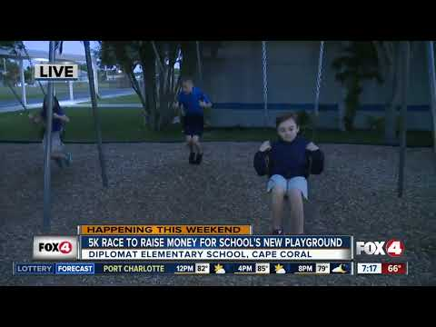 Diplomat Elementary School fundraises for new playground with community 5K