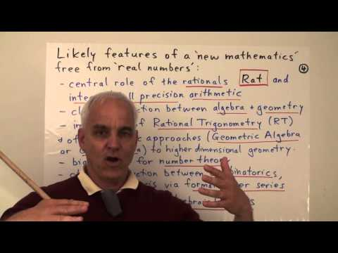MathFoundations119: Mathematics without real numbers