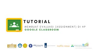Google Classroom - Membuat Membuat evaluasi (Assignment) di google classroom (HP)