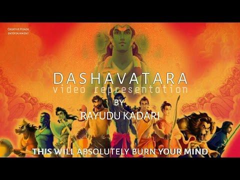 Krishnam Vande Jagadgurum video song | Dashavatara by Rayudu Kadari