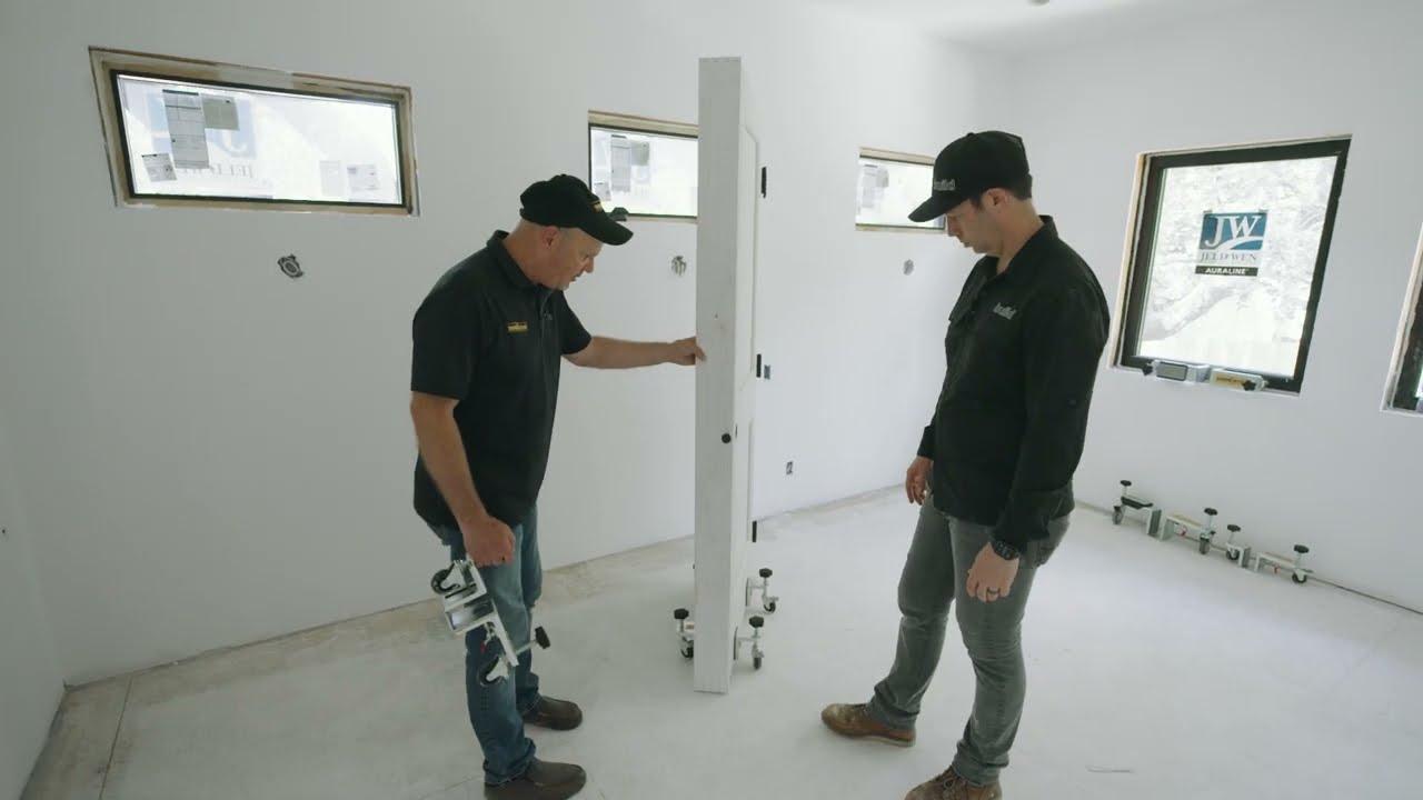 Progress at my house! WE HAVE DOORS!