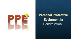 Personal Protective Equipment in Construction