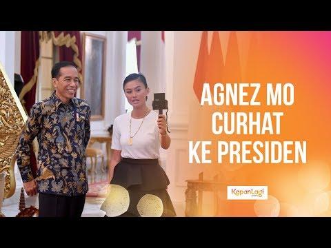Ketemu Presiden Jokowi, Ini Isi Curhat Agnez Mo