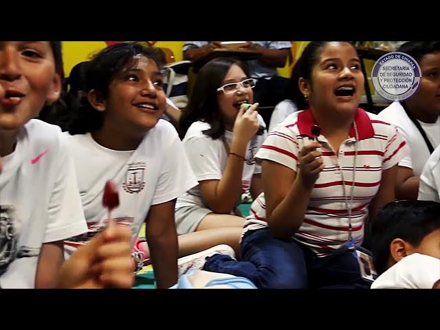 "SSyPC fomenta participación estudiantil con programa ""Escuela Segura"""