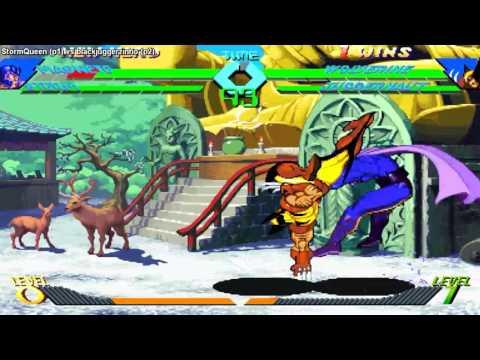 [FightCade X-Men Vs. Street Fighter] StormQueen vs blackjuggerzinho