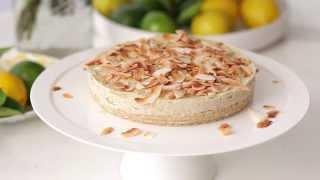 Raw Lemon And Lime Cheesecake
