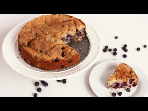 Blueberry Vanilla Bean Coffee Cake - Laura Vitale - Laura in the Kitchen Episode 574
