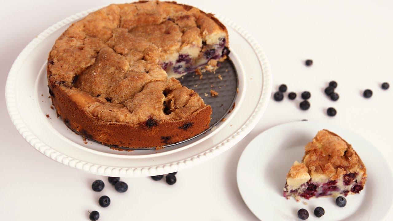 Blueberry Vanilla Bean Coffee Cake
