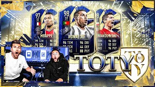FIFA 21:TOTY Pack Opening ESKALATION 🔥😱 TEAM OF THE YEAR START !!