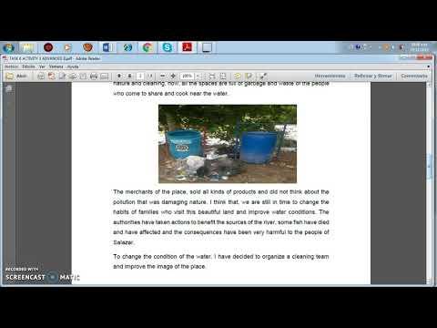 TASK 5 ACTIVITY 3 ENVIRONMENTAL PROBLEMS IN SALAZAR