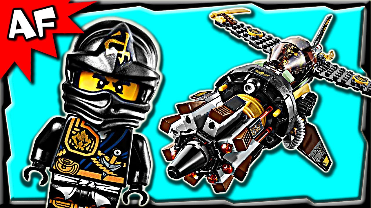 lego ninjago coles boulder blaster 70747 anacondrai jungle stop motion build review youtube