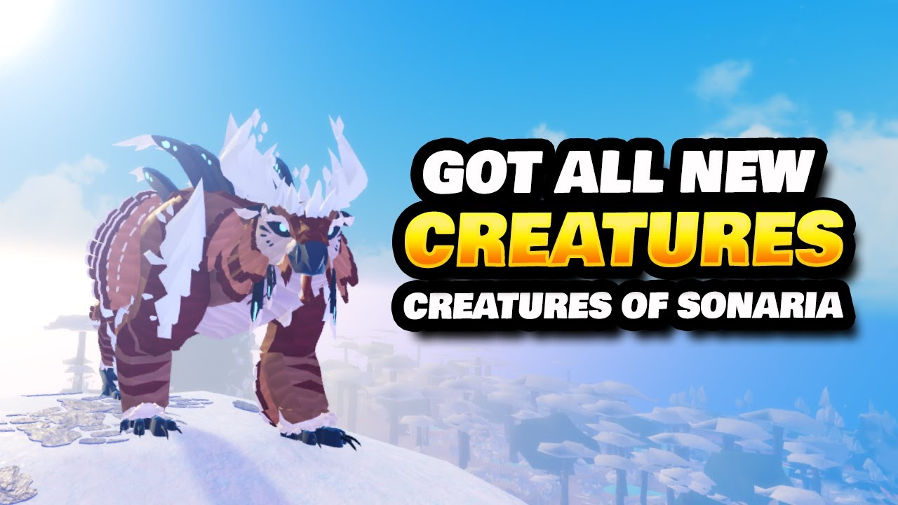 Download New Limited Creatures + Aereis Giveaway Winners (Creature of Sonaria)