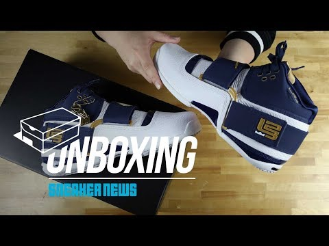 "Unboxing The Nike LeBron Zoom Soldier ""25 Straight"""