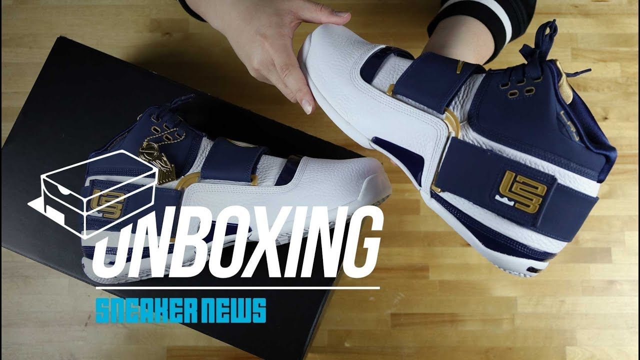 """92c77c30509 Unboxing The Nike LeBron Zoom Soldier """"25 Straight"""" - YouTube"""