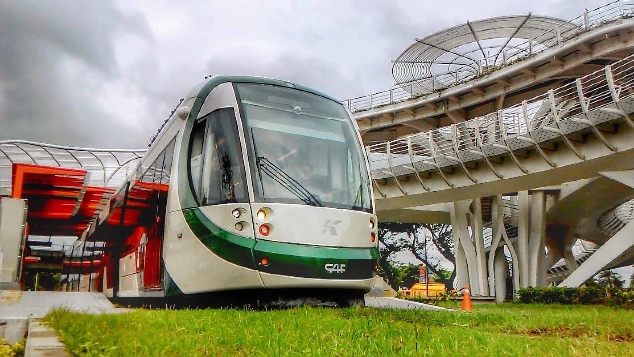 台灣第一條輕軌列車「高雄環狀輕軌」最新的輕軌測試影片