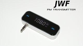jwf fm transmitter wireless in car audio 3 5mm mp3 mp4 jwfselling com