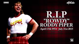 "WWE: ""Rowdy"" Roddy Piper - ""The Green Hills Of Tyrol"" - Official & Final Theme Song"