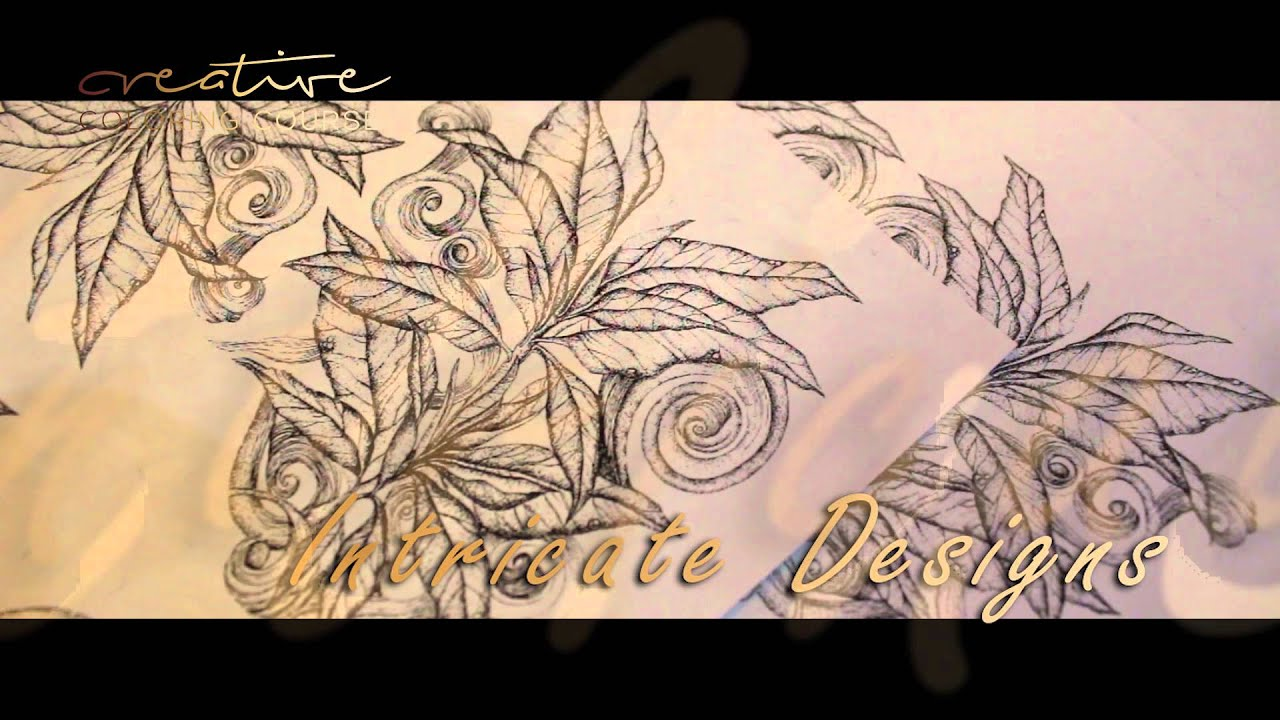 Learn Adult Coloring online with Creative Coloring Course - YouTube