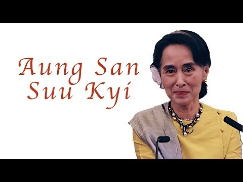 Aung San Suu Kyi on the Rohingya Muslims