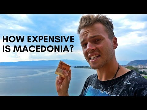 HOW EXPENSIVE IS MACEDONIA? 🇲🇰