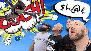 Crashing Drones at Spin Down - Day After Spin Up 2019