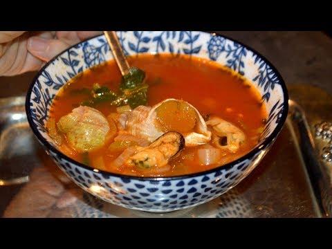 soupe-aux-fruits-de-mer-facile