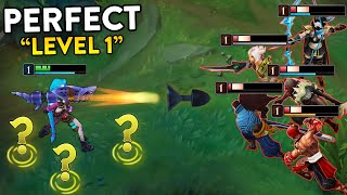 Perfect Level 1 Moments in League of Legends