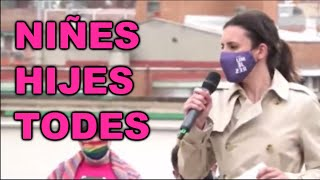 Irene Montero SE FLIPE.... Y OTROS PATETISMOS PROGRES