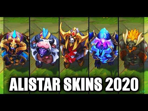 All Alistar Skins Spotlight 2020 (League of Legends)