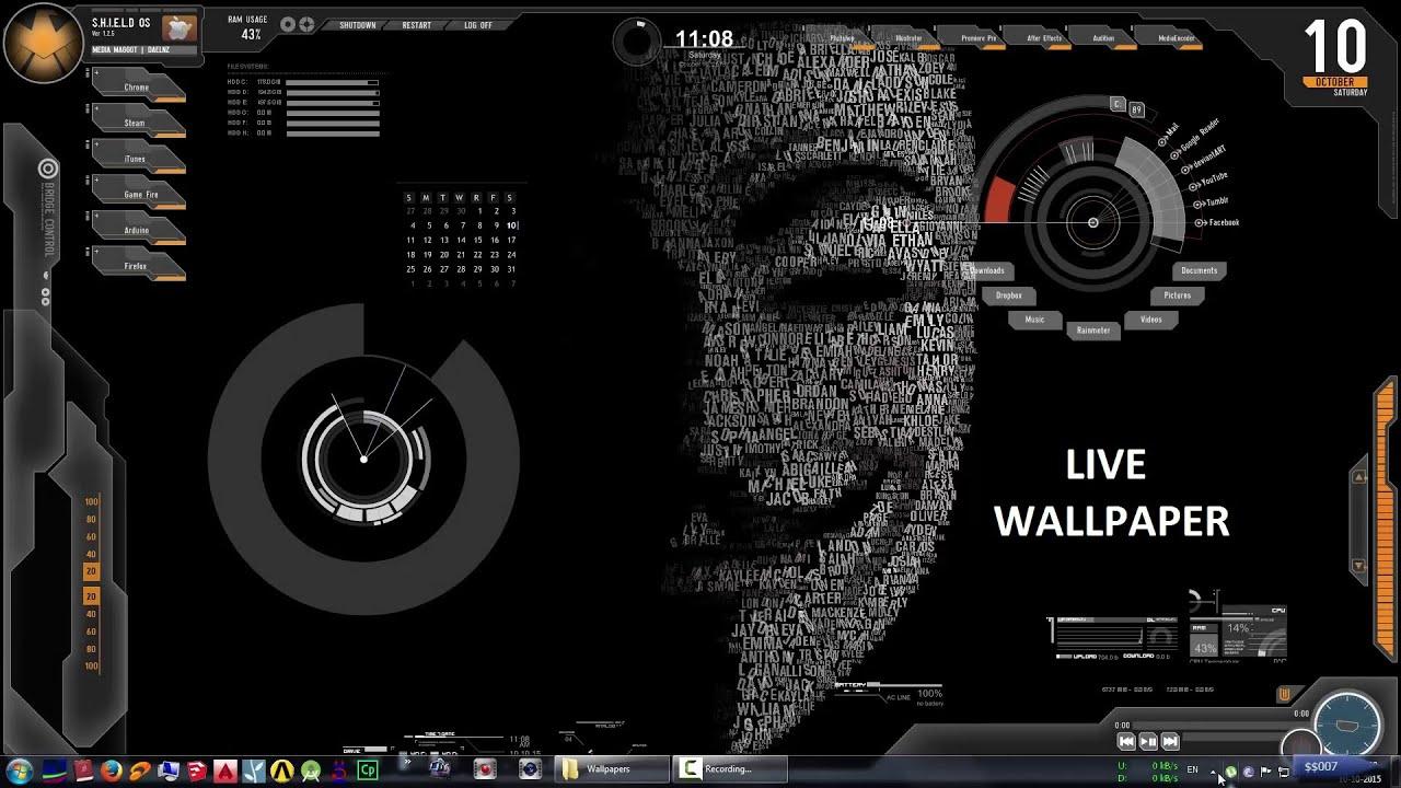 make your desktop alive