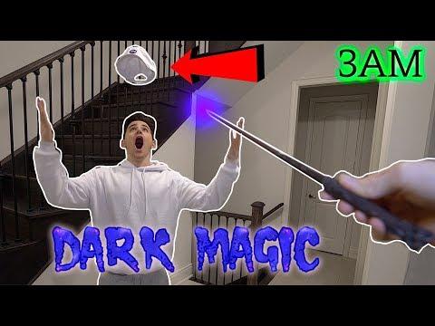 This Dark Web Magic Wand ACTUALLY works! (Levitating Items) (Real Dark Magic)