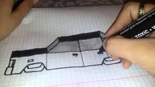 Как нарисовать объемную машину(, 2014-12-18T13:11:23.000Z)