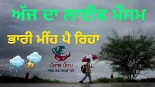 Punjab weather / Live rain today