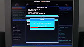 Прошивка BIOS Gigabyte GA-EP35-DS3L - YouTube