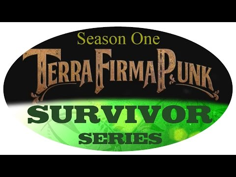 TerraFirmaPunk Survivor :: E07 - Setting up my Charcoal Pit & Forge