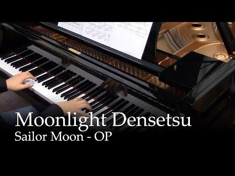 Moonlight Densetsu  Sailor Moon OP piano